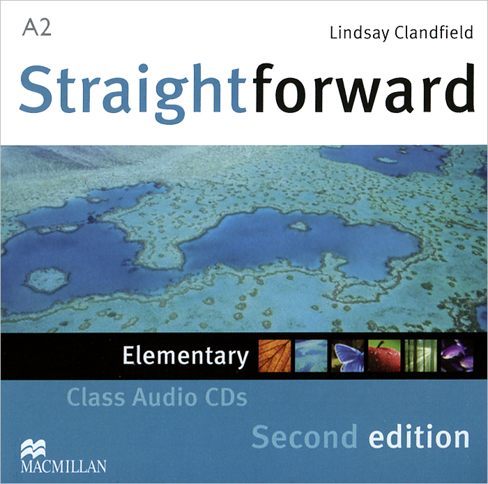 Straightforward: Elementary: Class Audio CDs (аудиокурс на 2 CD) kerr ph jones c straightforward 2ed int class audio cds