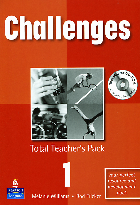 Challenges 1: Total Teacher's Pack (+ CD-ROM) change up intermediate teachers pack 1 audio cd 1 cd rom test maker