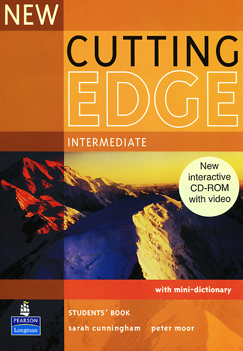 New Cutting Edge: Intermediate: Student's Book with Mini-Dictonary (+ CD-ROM) cutting edge upper intermediate student s book mini dictionary and cd rom