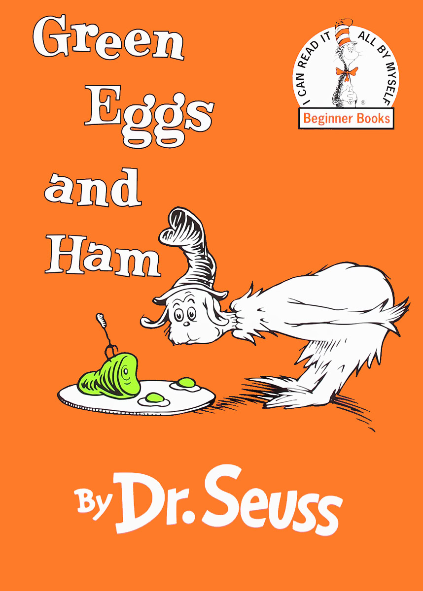 Green Eggs and Ham hood how to be a ham 3ed paper only