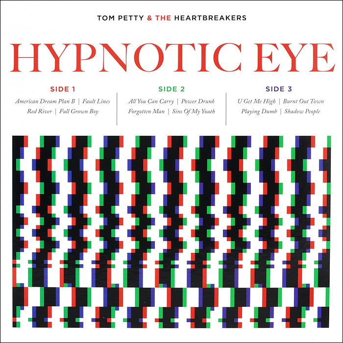 Tom Petty And The Heartbreakers Tom Pette And The Heartbreakers. Hypnotic Eye (2 LP) 1pc 1 2 7 8 woodworking cutter cnc engraving tools cutting the wood router bits 1 2 shk