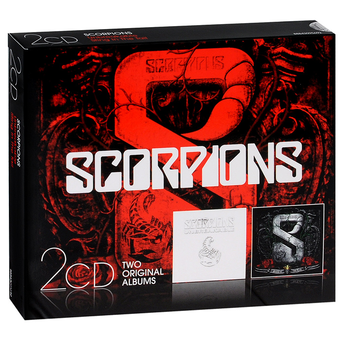 Scorpions Scorpions. Unbreakable / Sting In The Tail (2 CD) scorpions love at first sting 2 cd