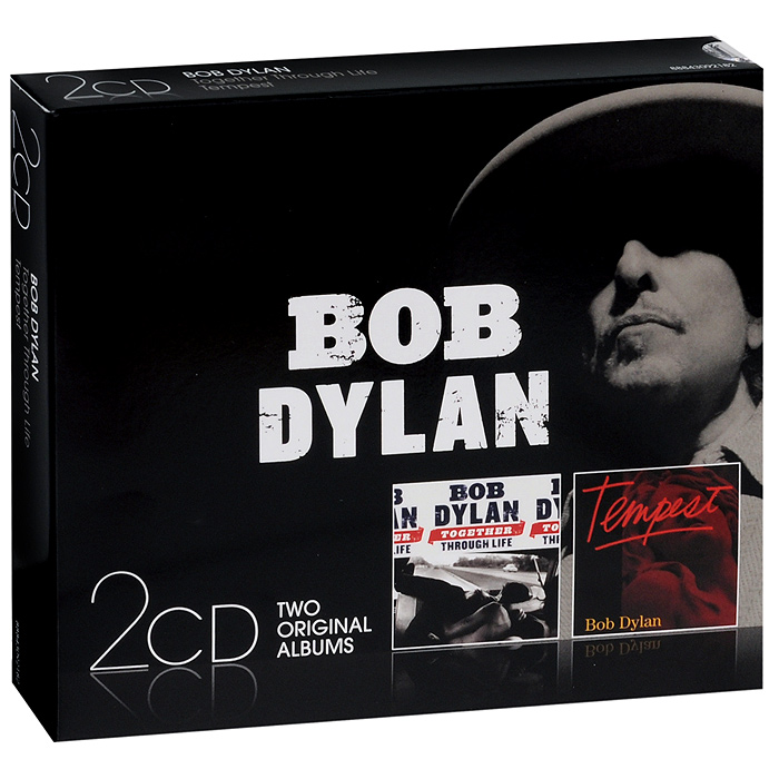 Боб Дилан Bob Dylan. Together Through Life / Tempest (2 CD) боб дилан левон хелм робби робертсон гарт хадсон dylan bob