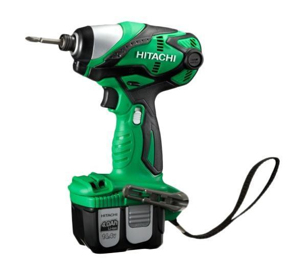 Шуруповерт аккумуляторный ударный Hitachi WH14DL2 аккумуляторный ударный шуруповерт hitachi wh18dsdl