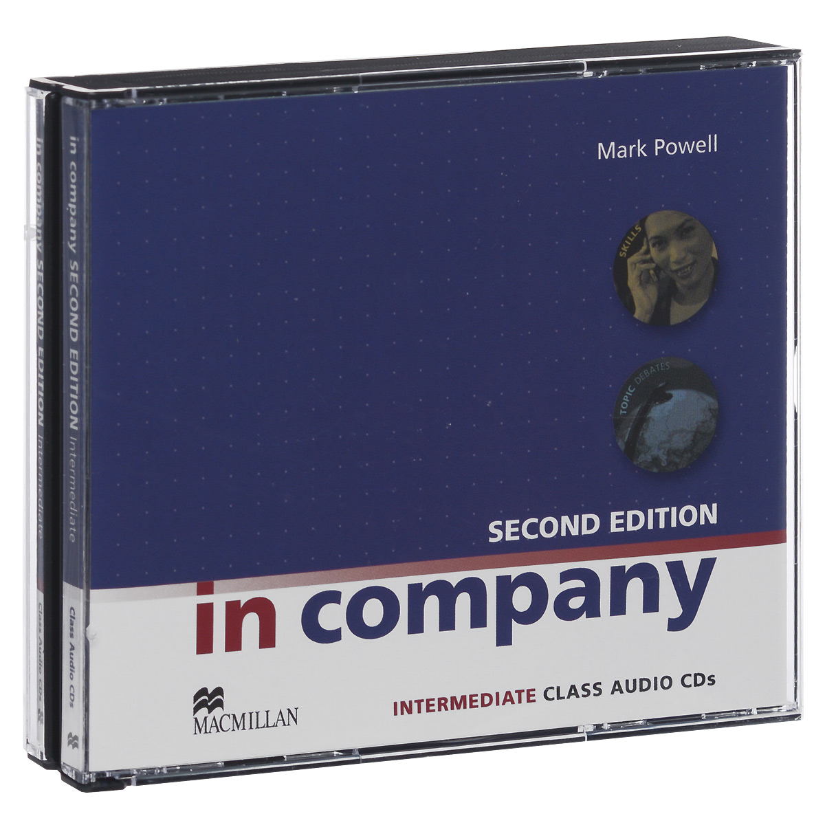In Company: Intermediate: Class Audio CDs (аудиокурс на 3 CD) evans v new round up 2 teacher's book грамматика английского языка russian edition with audio cd 3 edition