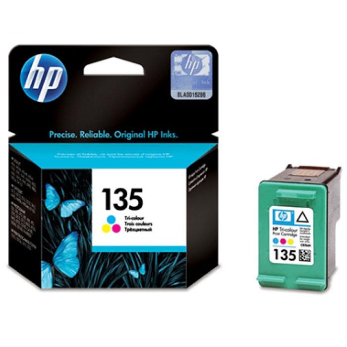 HP C8766HE (135), Сolor струйный картриджC8766HEУниверсальный трехцветный картридж HP 135 обеспечивает воспроизведение ярких, насыщенных реалистичным цветом фотографий и изображений профессионального качества, сохраняющих стойкость к выцветанию в течение нескольких десятилетий. Кроме того, картридж взаимодействует с принтером HP, позволяя в полной мере реализовать преимущества технологии интеллектуальной печати.Профессиональная печать живой, насыщенной реалистичным цветом графики и фотоснимковСохраните воспоминания благодаря превосходным фотографиямФункции интеллектуальной печати, обеспечивающие высокое качество, удобство и простоту использованияHP Officejet 6313/6315/7213/7313/7410/7413/H470 Officejet Pro K7103Photosmart 325/335/375/475/2573/2575/2613/422/425/428/8049/8050/8150/C3183/C4183/D5063Photosmart Pro B8353PSC 1600/1610/1613/2210/2350/2355/2410Deskjet 460/5743/6540/6943/6983/9803HP 138/132
