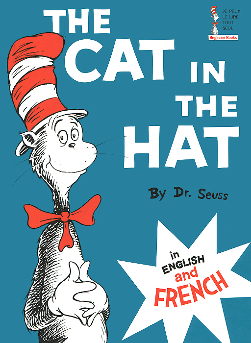 The Cat in the Hat in English and French cat in the hat el gato ensombr