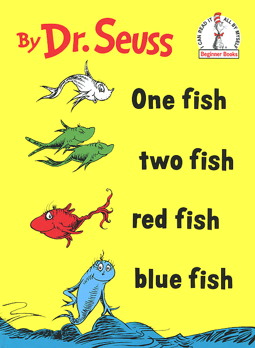 One Fish Two Fish Red Fish Blue Fish игрушка bradex funny fish de 0073 blue