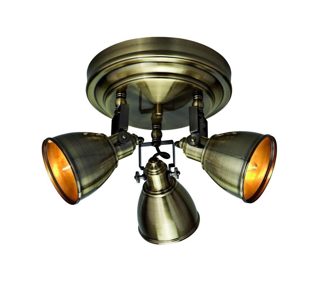 Потолочный светильник 104050, FJALLBACKA104050104050 Потолочный светильник, FJALLBACKA, бронза, E14 3*40WW