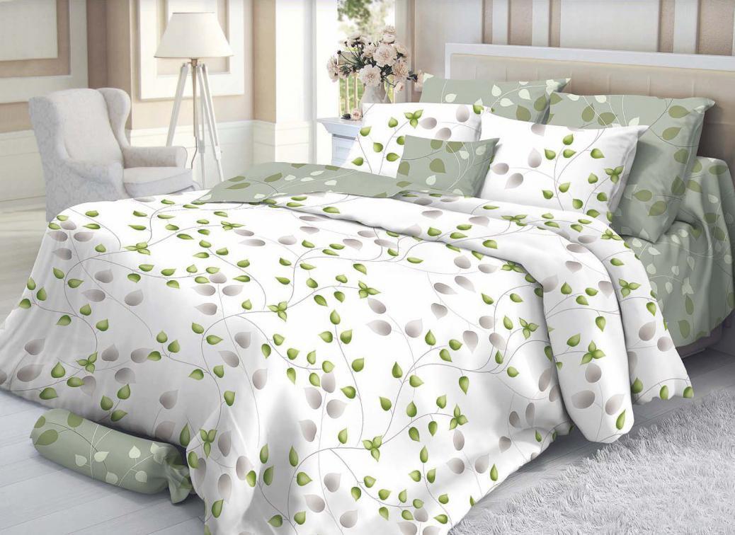 Комплект белья Verossa Botanic (2-х спальный КПБ, сатин, наволочки 70х70)