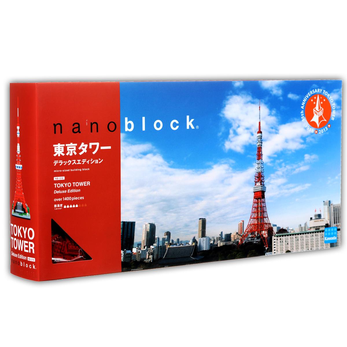 Nanoblock Мини-конструктор Токийская Телебашня Deluxe nanoblock паровоз