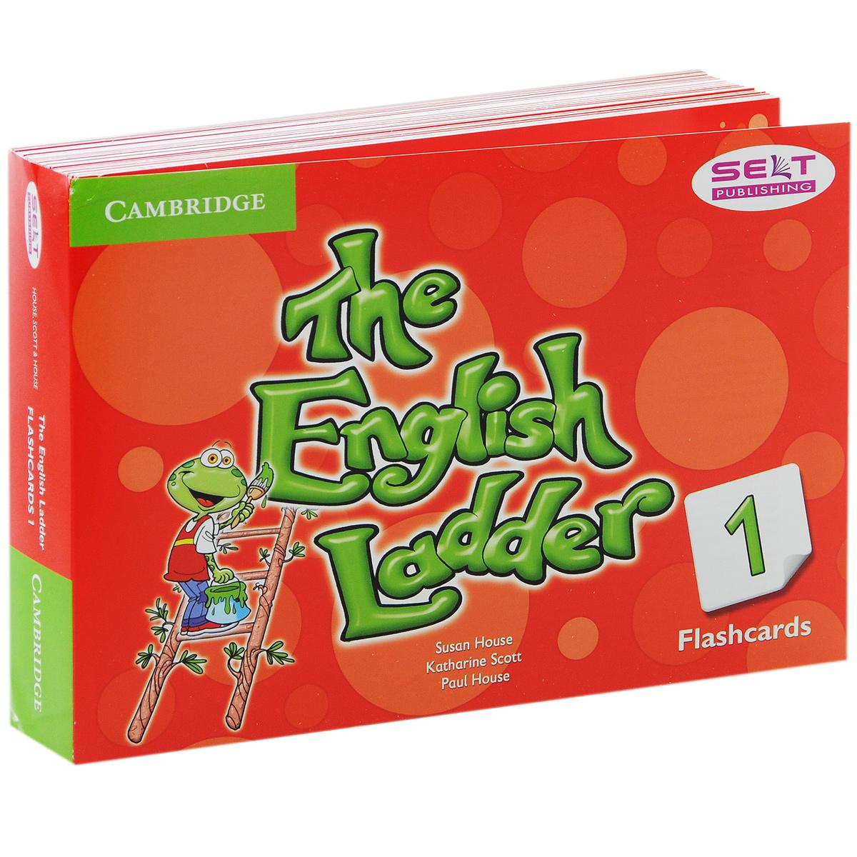 The English Ladder 1: Flashcards (набор из 100 карточек) 123 flashcards