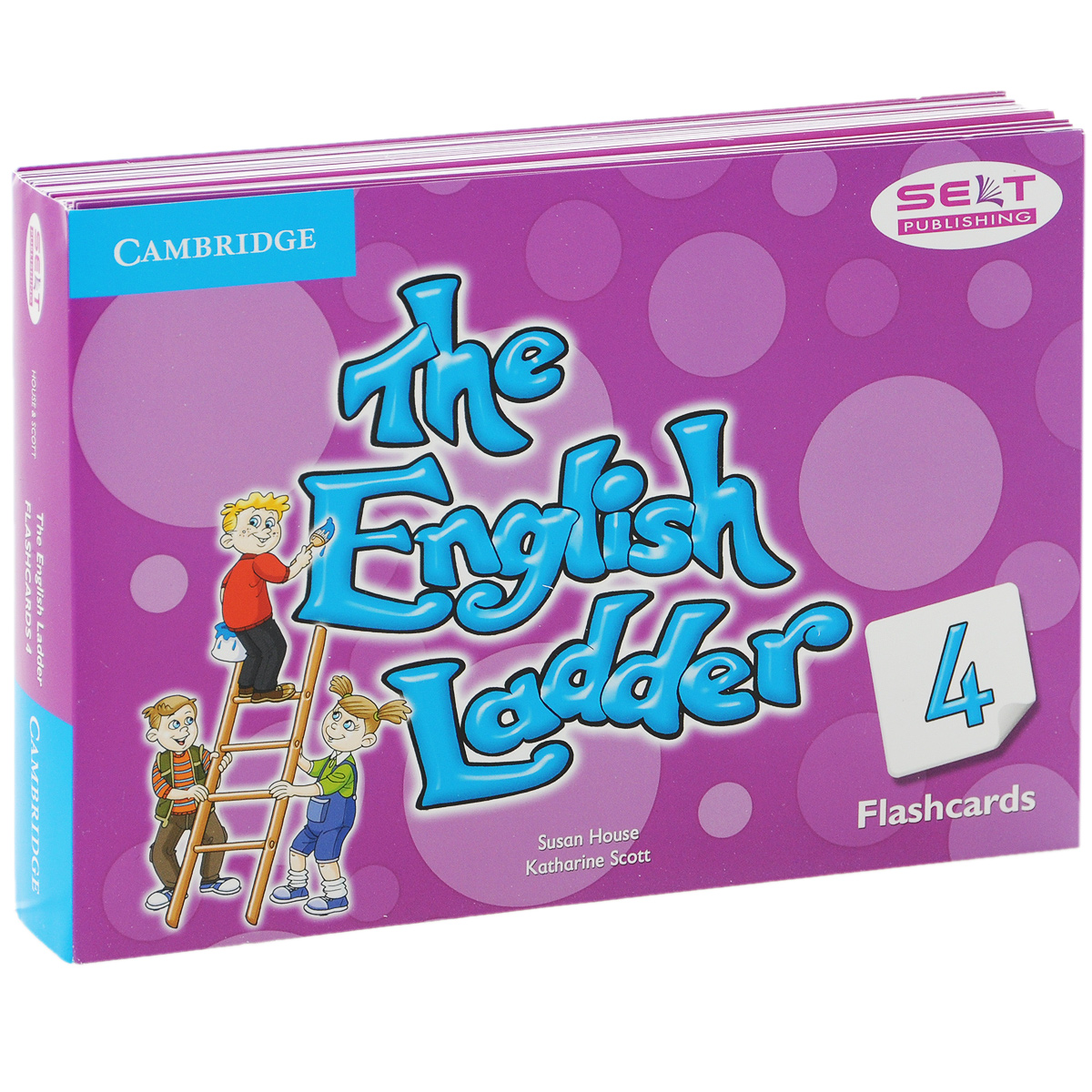 The English Ladder 4: Flashcards (набор из 88 карточек) bowen m way ahead 4 pupils book cd rom pack
