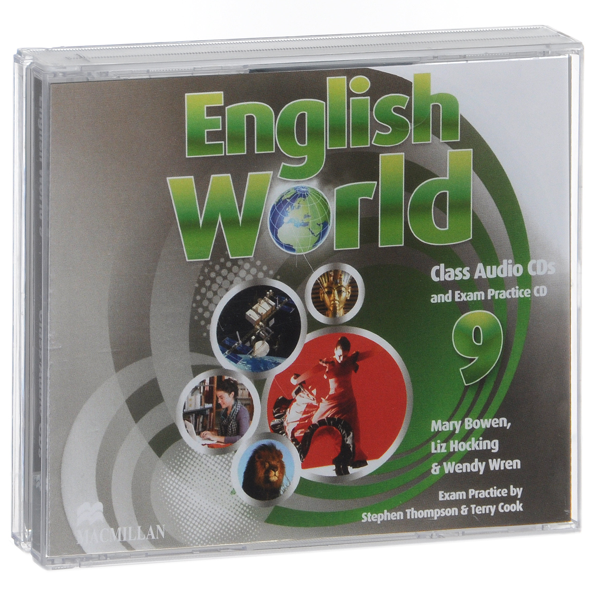 English World 9: Class Audio CDs and Exam Practice CD (аудиокурс на 3 CD) english unlimited intermediate class audio cds 3 licen