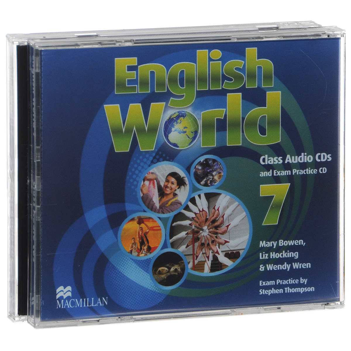 English World 7: Class CDs and Exam Practise CD (аудиокурс на 3 CD) english world 7 level a2 b1 class audio cds and exam practice cd аудиокурс на 3 cd