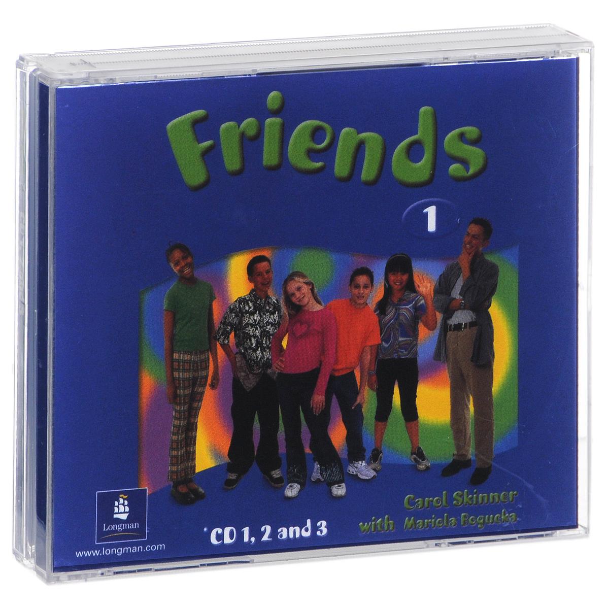 Friends 1 (аудиокурс на 3 CD) ciao italia аудиокурс cd