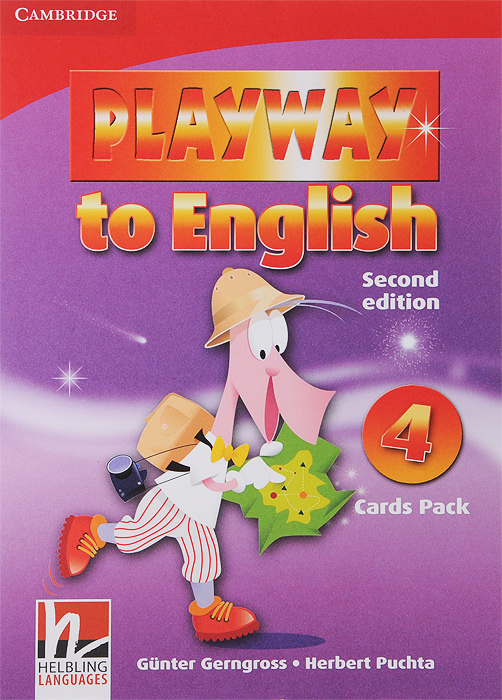Playway to English 4: Flash Cards (набор из 106 карточек) playway to english level 1 pal version dvd