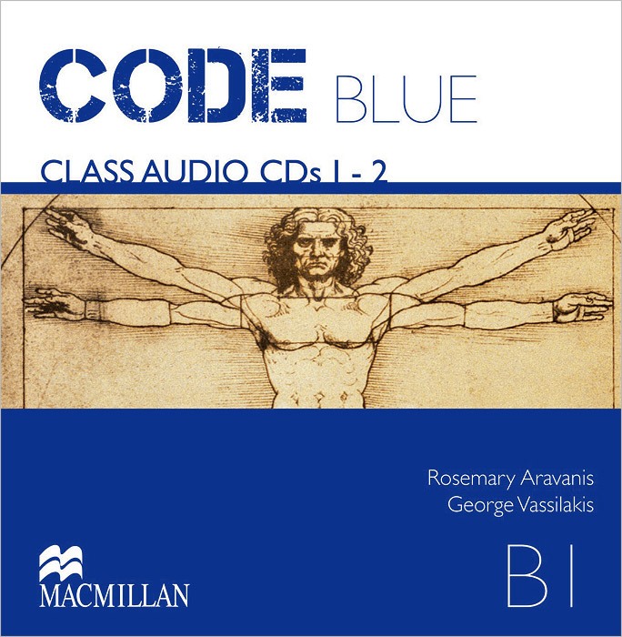 Code Blue: B1 (аудиокурс на 2 CD) 3m scotch blue 2090 safe release crepe paper multi surfaces painters masking tape 27 lbs in tensile strength 60 yds length x 2 width blue pack of 24