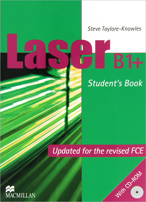 Laser B1+: Student's Book (+ CD-ROM) england pre intermediate level a2 b1 cd rom