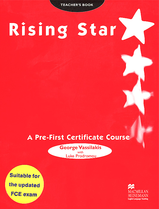 Rising Star: A Pre-First Certificate Course: Teacher's Book eternity s wheel