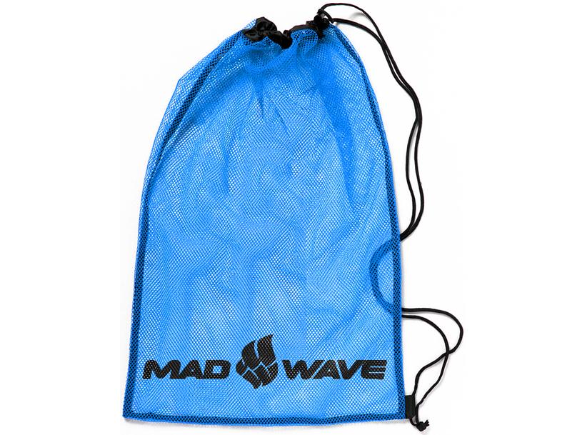 Мешок-сетка для инвентаря Mad Wave, цвет: синий, 65 см х 50 см, MadWave