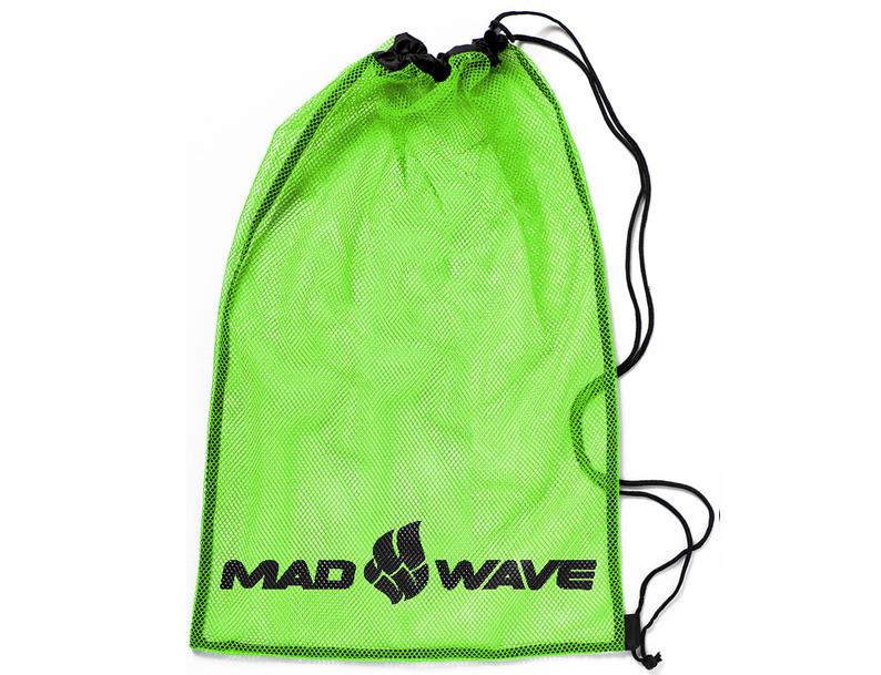 Мешок-сетка для инвентаря Mad Wave, цвет: зеленый, 65 см х 50 см