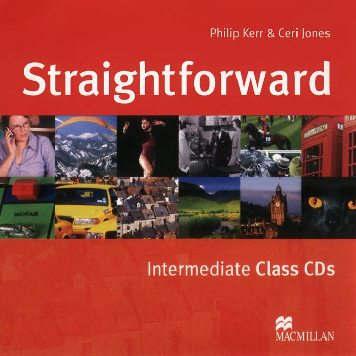 Straightforward: Intermediate (аудиокурс на 2 CD) change up intermediate teachers pack 1 audio cd 1 cd rom test maker
