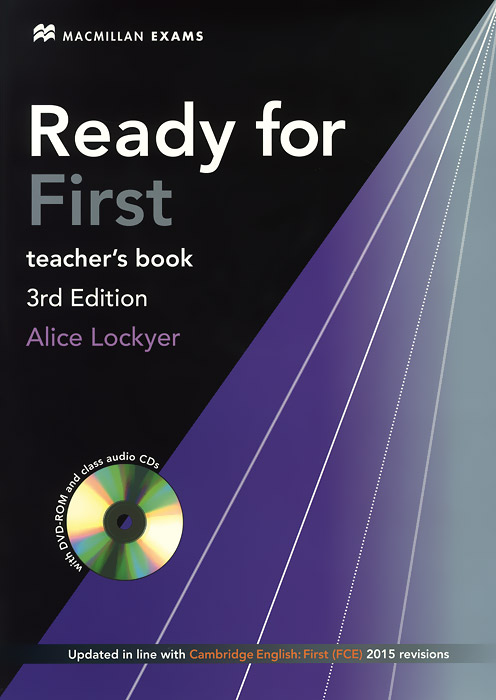 Ready for First: Teacher's Book (+ 2 CD) objective first 4 edition student s book without answers cd rom