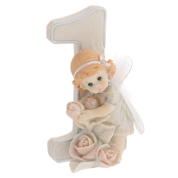 Статуэтка Molento Именинный ангелочек. 1 год, высота 11 см514-954Статуэтка Molento Именинный ангелочек. 1 год, выполненная из полистоуна, станет отличным подарком для вашего малыша! Все мы знаем, как порой непросто бывает выбрать подходящий подарок к тому или иному торжеству, а декоративные статуэтки Molento всегда были и останутся оригинальным подарком. Этот вид сувенира нельзя назвать бесполезной вещью. Статуэтка может стать великолепным украшением интерьера. Статуэтка является подарком на все времена, подобная вещь никогда не выйдет из моды.Спустя годы она будет только радовать владельца своими изящными формами и плавными линиями.