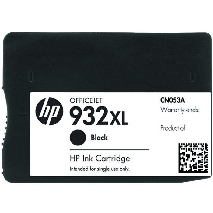 HP CN053AE (932XL), Black струйный картриджCN053AEЧерные картриджи HP CN053AE (932XL) Officejet обеспечивают профессиональное качество печати страница за страницей. Этот картридж высокой емкости позволяет печатать большие объемы документов с четким черным текстом лазерного качества, и при этом их очень легко утилизировать.