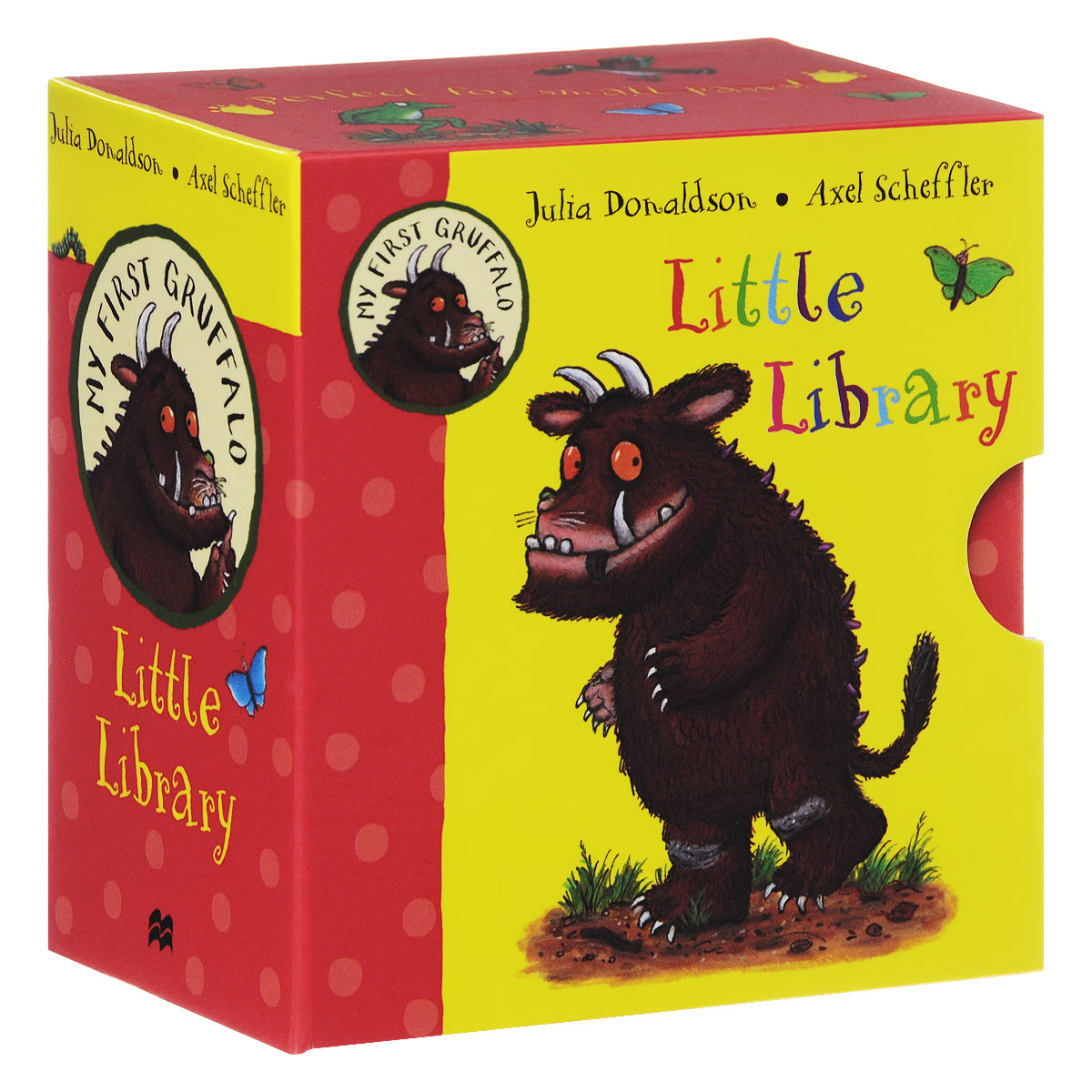 My First Gruffalo Little Library (комплект из 4 миниатюрных книжек) davis sarah sirett dawn my first learning library box my first world abc numbers hb