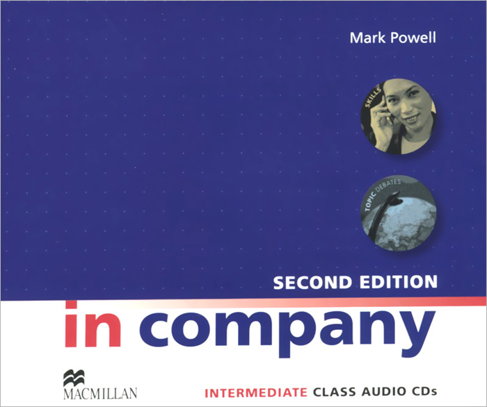 In Company: Intermediate: Class Audio CDs (аудиокурс на 4 CD)
