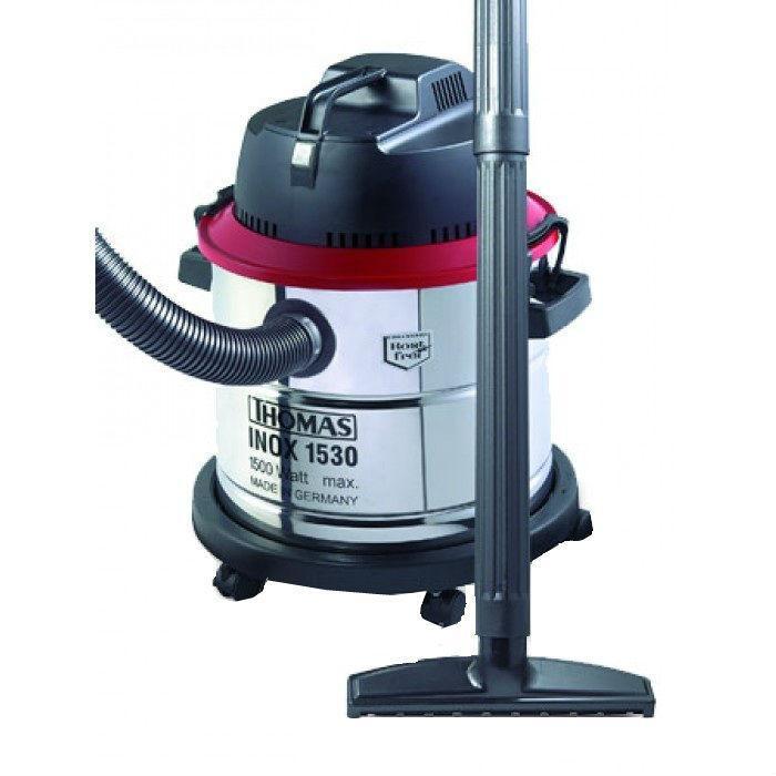Thomas Inox 1530 SFE, Black Steel пылесос1530 SFEМощный пылесос со специальным фильтром. Объем 45 литров