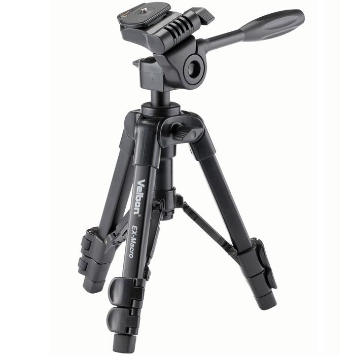 Velbon EX-Macro штативEX-MacroНовое поколение штативов, которые подходят как для начинающих так и продвинутых фотографов. Работая со штативом Velbon EX-Macro вы сможете сделать отличные снимки и набраться опыта в работе с фотографиями. В комплект также входит удобный чехол для переноски.