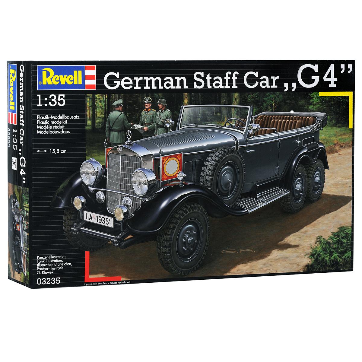 Revell Сборная модель Германский обслуживающий автомобиль G4