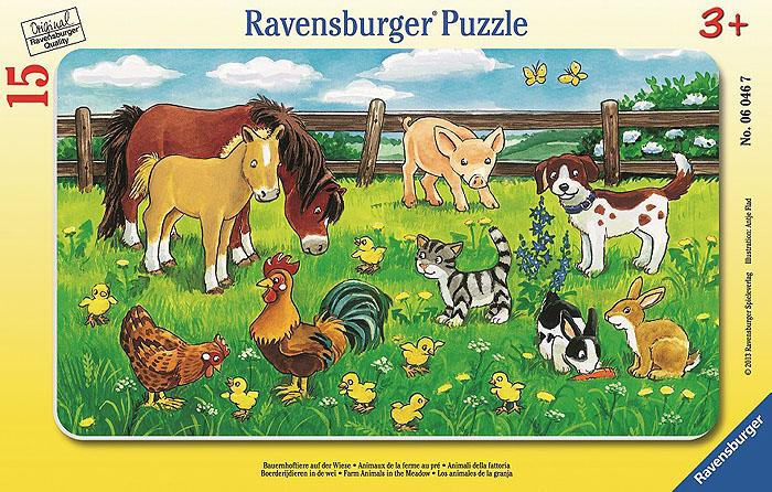 Ravensburger Пазл Животные на лугу