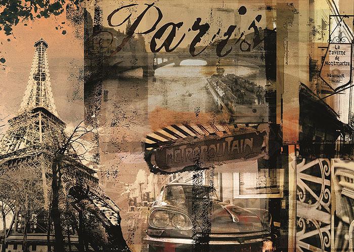 Ravensburger Воспоминание о Париже. Пазл, 1000 элементов