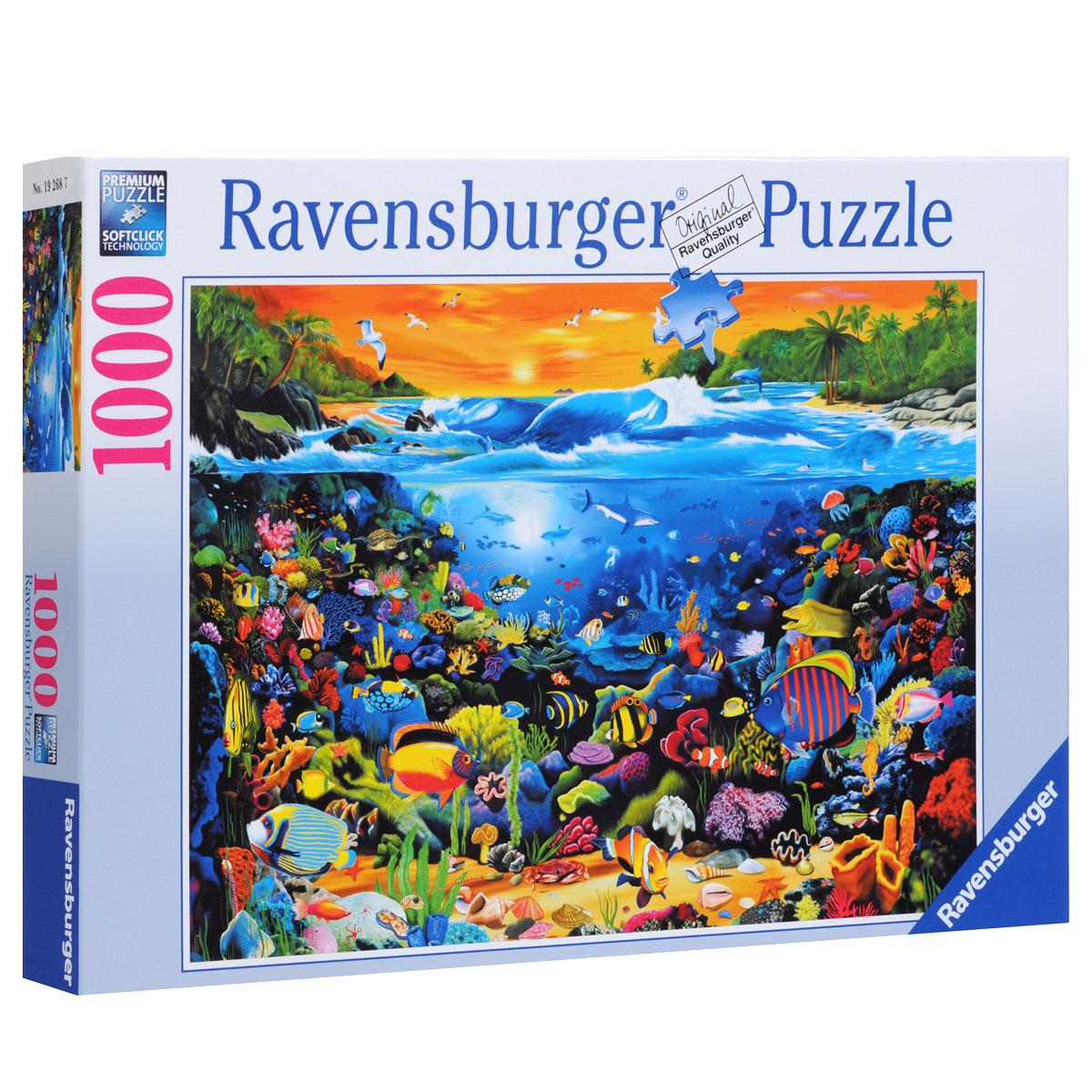 Ravensburger Подводный мир. Пазл, 1000 элементов