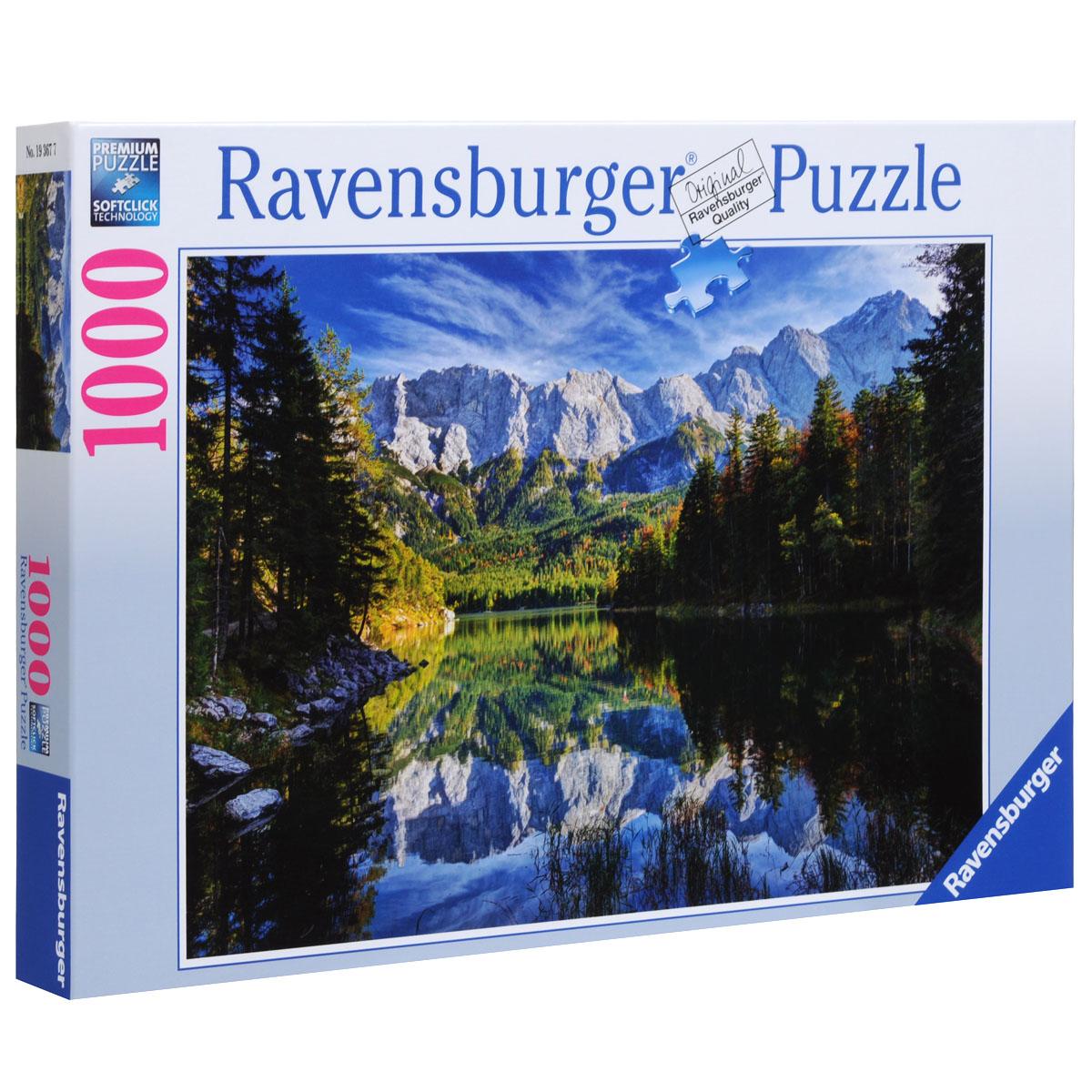 Ravensburger Озеро Эйб. Пазл, 1000 элементов