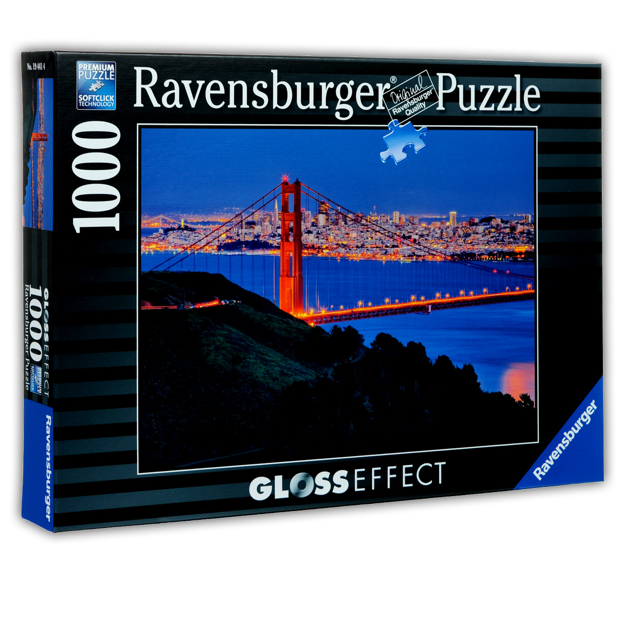 Ravensburger Сан-Франциско. Пазл с глянцевым эффектом, 1000 элементов
