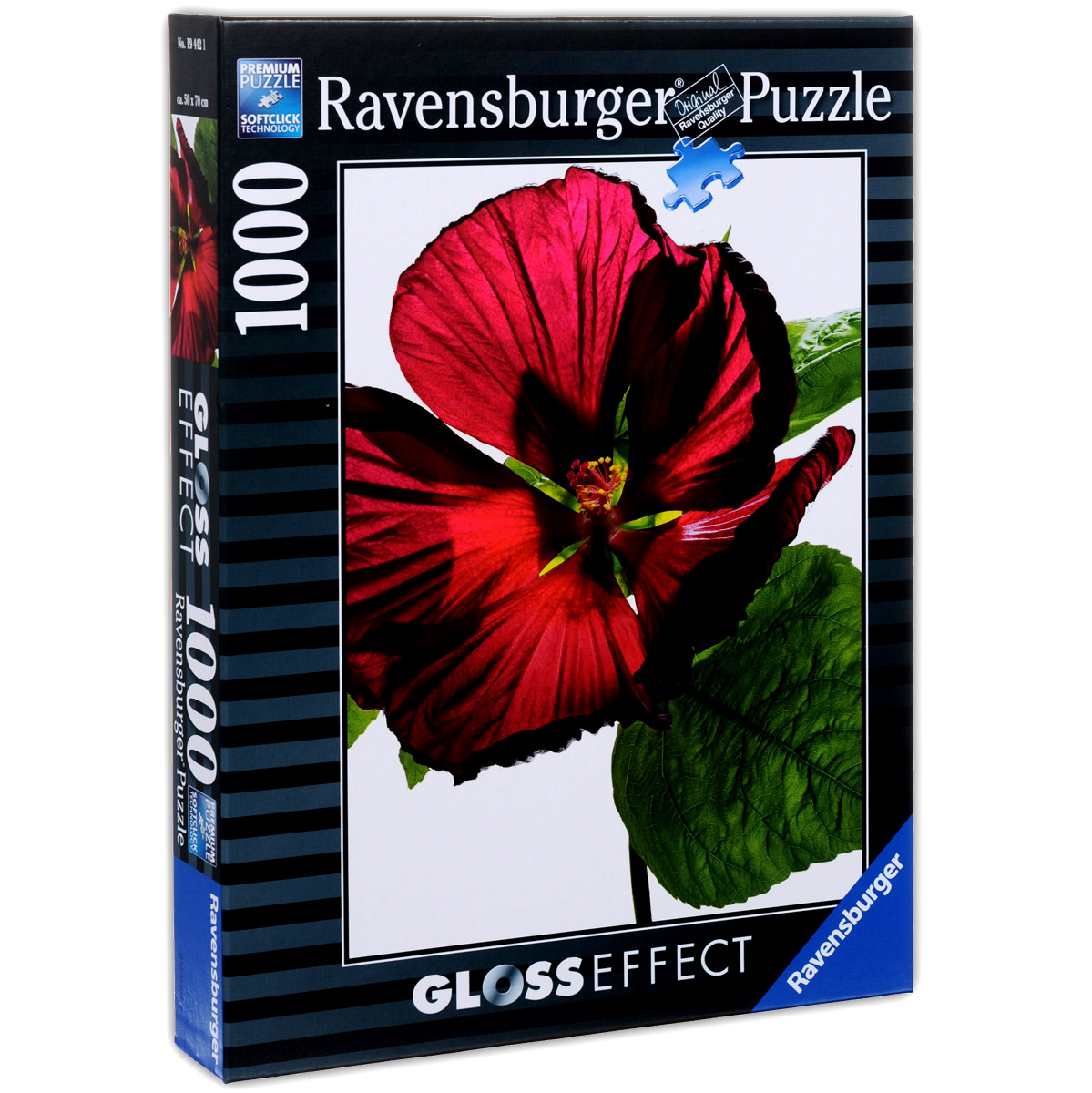 Ravensburger Цветок гибискуса. Пазл с глянцевым эффектом, 1000 элементов