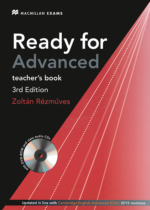 цены  Ready for Advanced: Teacher's Book (+ DVD-ROM, 2 CD)