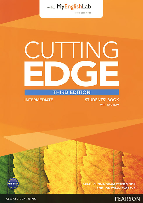Cutting Edge: Intermediate: Student's Book with MyEnglishLab (+ DVD-ROM) декор absolute keramika ornamental crema b1 15x45