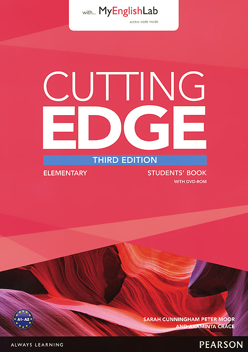 Cutting Edge: Elementary: Student's Book with MyEnglishLab (+ DVD-ROM) new opportunities russian edition elementary test book