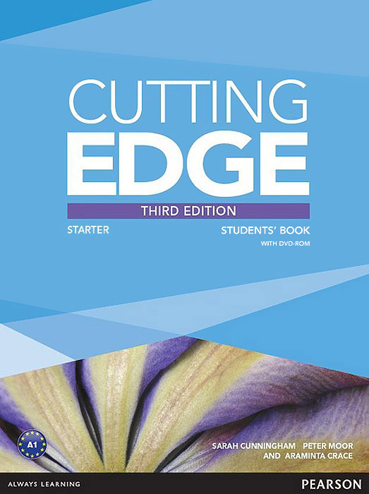 Cutting Edge: Starter: Students' Book (+ DVD-ROM) cutting edge intermediate dvd rom