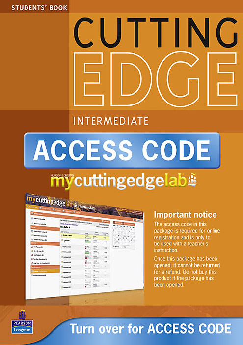 New Cutting Edge: Intermediate: Student's Book (+ Mini-Dictionary and CD-ROM) new eli picture dictionary cd rom german