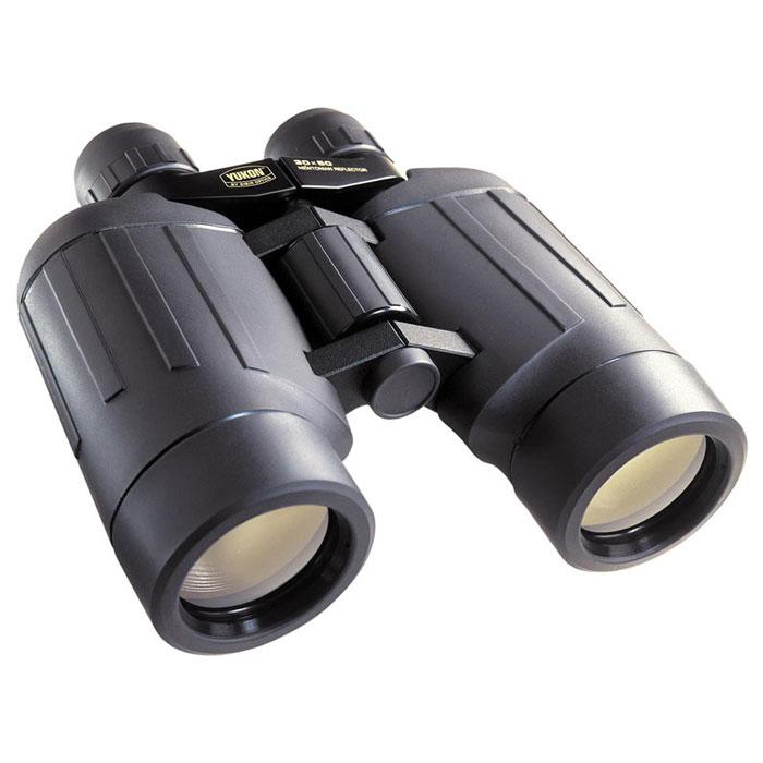 Yukon БЗ 30x50 бинокль22011Бинокль БЗ 30x50 будет отличным спутником в походе и на прогулке, при изучении животного и растительного мира, ведении поисковых работ и занятиях стрелковым спортом, наблюдениях в городских условиях и на спортивных соревнованиях. Прибор изначально предназначался для решения задачи наблюдения на больших дистанциях. Благодаря комбинации зеркально-линзовой схемы и применения в конструкции сверхлегких сплавов и пластиков нам удалось создать самый легкий прибор в классе биноклей большого увеличения.Сочетая в себе огромное увеличение с компактностью и небольшим весом, он идеально подойдет для путешествий. Линзы с многослойным покрытием гарантируют высокое светопропускание, исключительные контраст и разрешение. Едва различимые невооруженным глазом объекты становятся доступными для детального рассмотрения.Предел перефокусировки окуляра: +/-5 дптрУвеличение: 30xПоле зрения: - 1,8°Диапазон рабочих температур: от -30°С до +40°С