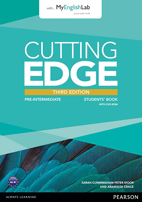 Cutting Edge: Pre-Intermediate: Students' Book with MyEnglishLab (+ DVD-ROM) cunningham s new cutting edge intermediate students book cd rom with video mini dictionary