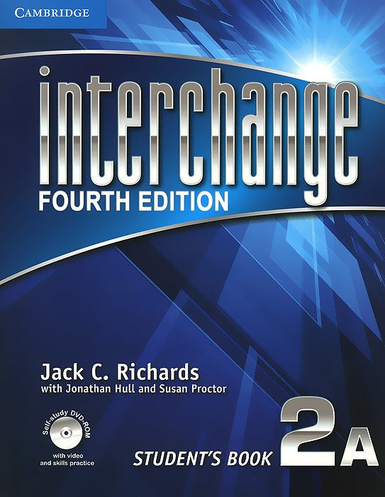 Interchange 2A: Student's Book (+ DVD-ROM) цветкова татьяна константиновна english grammar practice учебное пособие