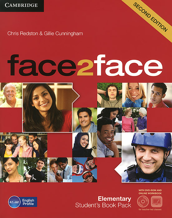 Face2Face: Elementary Student's Book (+ DVD-ROM) face2face advanced student s book dvd rom